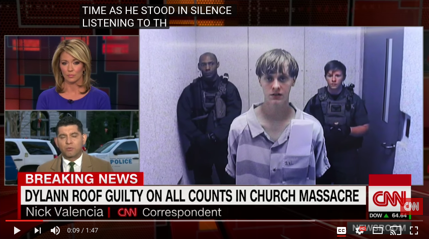 Saying Nice Things (about Dylann Roof).